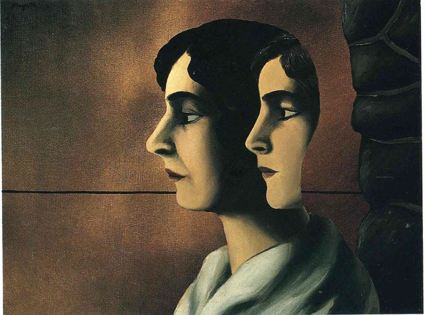 Magritte, Les regards perdus, 1927-1928
